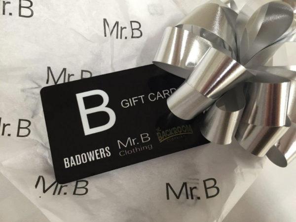 mr b gift card
